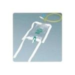 "Product Photo: Dispoz-a-Bag Leg Bag with Flip-Flo Valve & 18"" Extension Tubing, 19 oz. - Item #: 57150819CA"